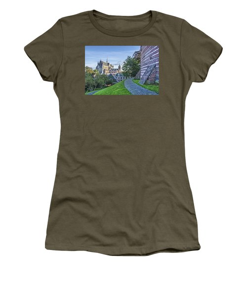 Leiden, The Church And The Castle Women's T-Shirt