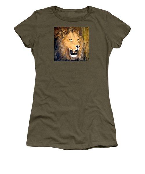 Leo Women's T-Shirt (Junior Cut) by Alan Lakin