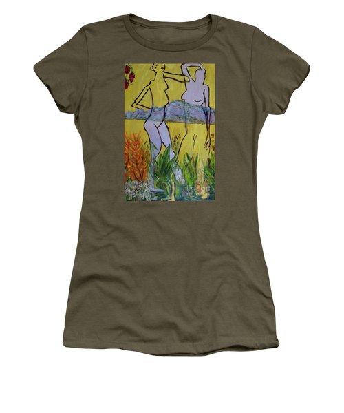 Les Nymphs D'aureille Women's T-Shirt (Junior Cut) by Paul McKey