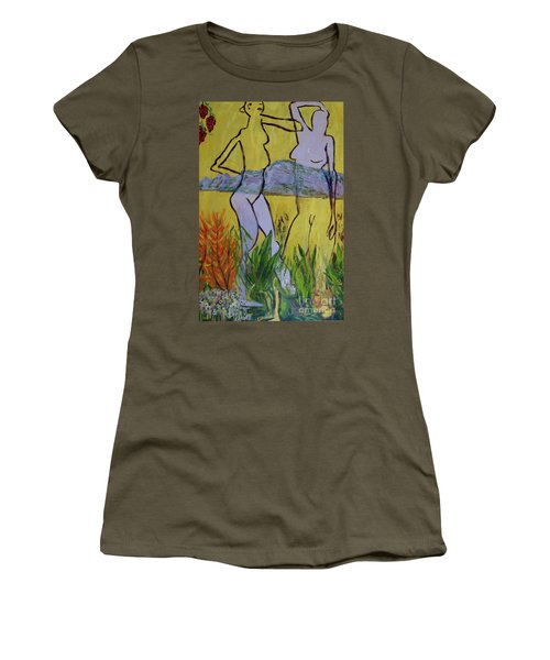 Les Nymphs D'aureille Women's T-Shirt