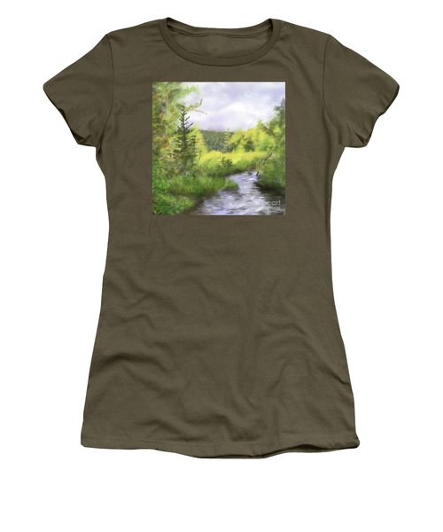 Let The Light Shine In. Women's T-Shirt (Athletic Fit)