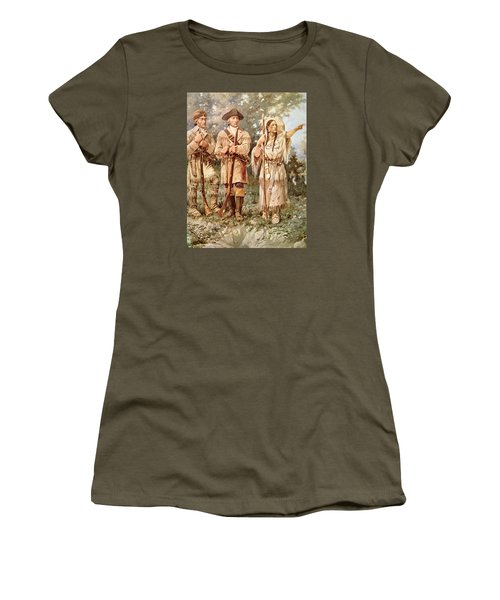 Lewis And Clark With Sacagawea Women's T-Shirt