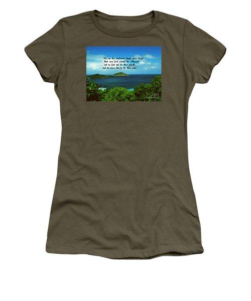 Liberty Women's T-Shirt (Athletic Fit)