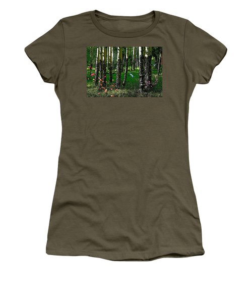 Life Among The Aspens Women's T-Shirt