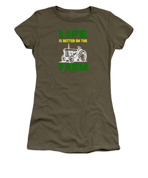 Life Is Better On The Farm Tee Women's T-Shirt