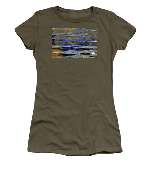 Light And Water  Women's T-Shirt (Junior Cut) by Lyle Crump