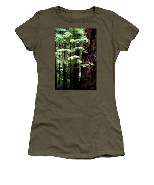 Light On Trees Women's T-Shirt