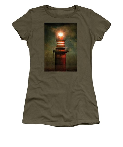 Lighthouse Women's T-Shirt (Athletic Fit)