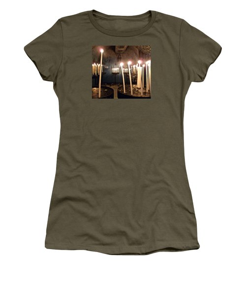 Lights Of Hope Women's T-Shirt (Junior Cut) by Amelia Racca