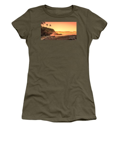 Lihu'e Sunrise Women's T-Shirt (Athletic Fit)