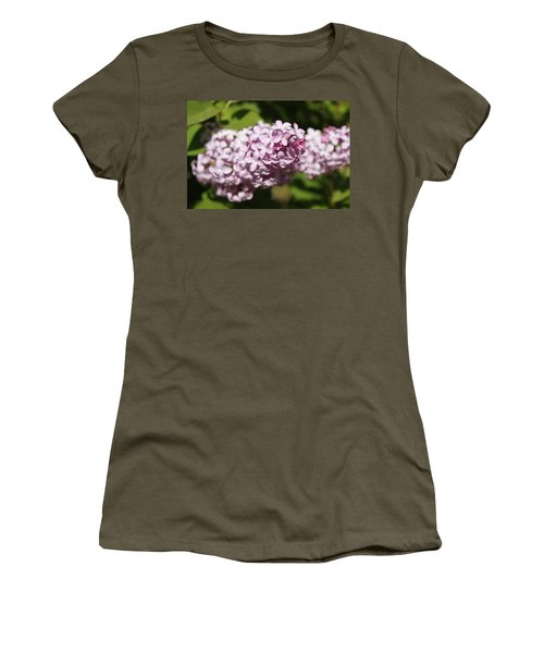 Women's T-Shirt (Junior Cut) featuring the photograph Lilacs 5549 by Antonio Romero