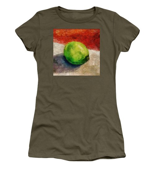 Lime Still Life Women's T-Shirt
