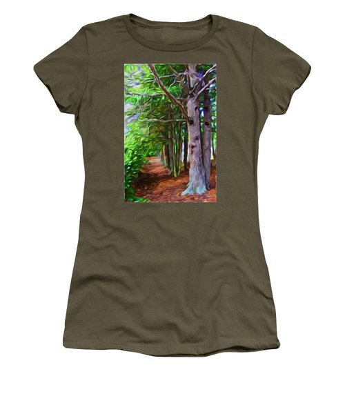 Lincoln's Path Women's T-Shirt (Junior Cut) by Joan Reese