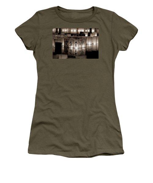 Lit Memories Women's T-Shirt (Junior Cut) by Greg Fortier
