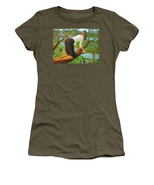 Little Bird Women's T-Shirt (Junior Cut) by Glenn Quist