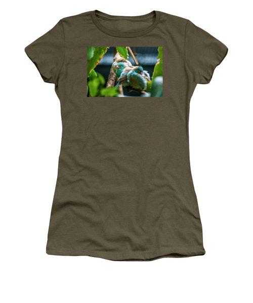 Little Birds Women's T-Shirt (Athletic Fit)