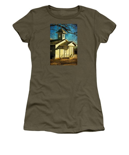 Women's T-Shirt (Junior Cut) featuring the photograph Little Church by Joan Bertucci
