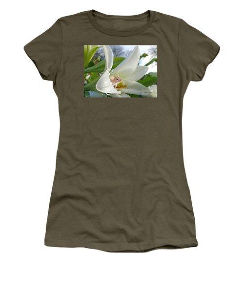Little Field Mouse Women's T-Shirt (Athletic Fit)