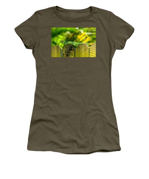Little Green Visitor Women's T-Shirt