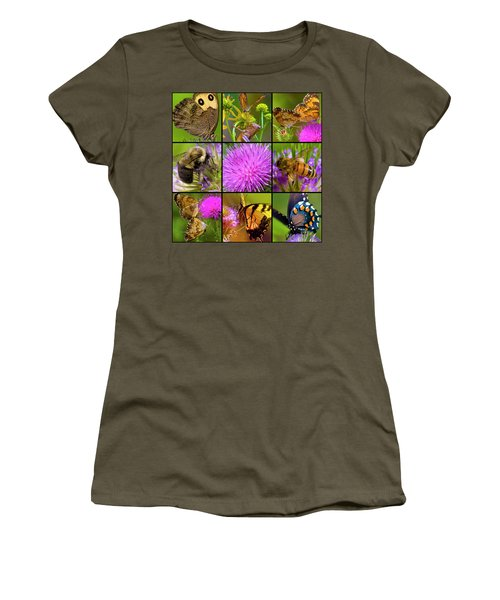 Little Guys  Women's T-Shirt (Junior Cut) by Betsy Knapp