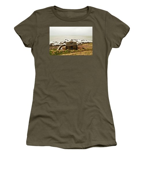 Little House At The Nigg Bay. Women's T-Shirt