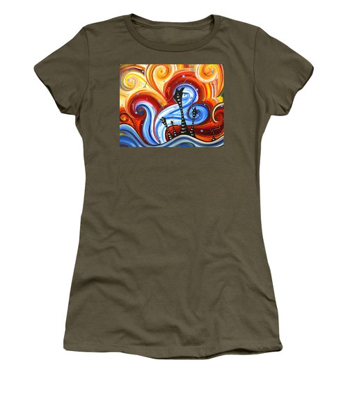 Little Village By Madart Women's T-Shirt