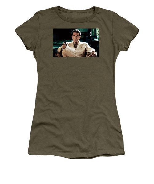 Live By Night Ben Affleck Women's T-Shirt (Athletic Fit)