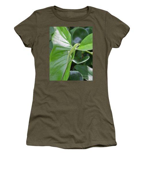 Lizard Waimea Trail Women's T-Shirt (Athletic Fit)