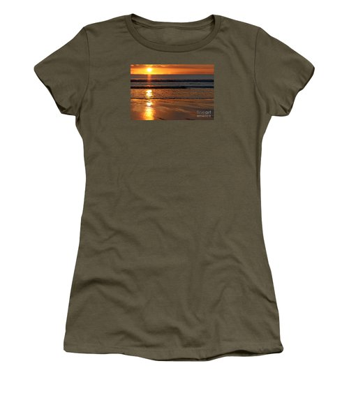 Llangennith Beach Sand Textures Women's T-Shirt