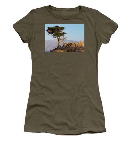 Lone Cypress Tree  Women's T-Shirt