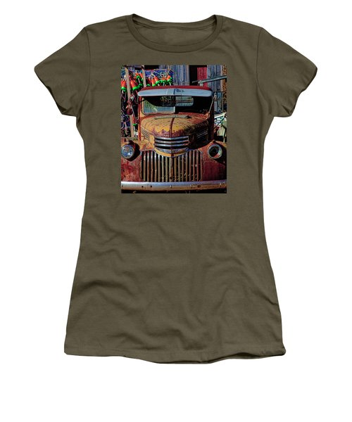 Lobster Pots And Chevys Women's T-Shirt