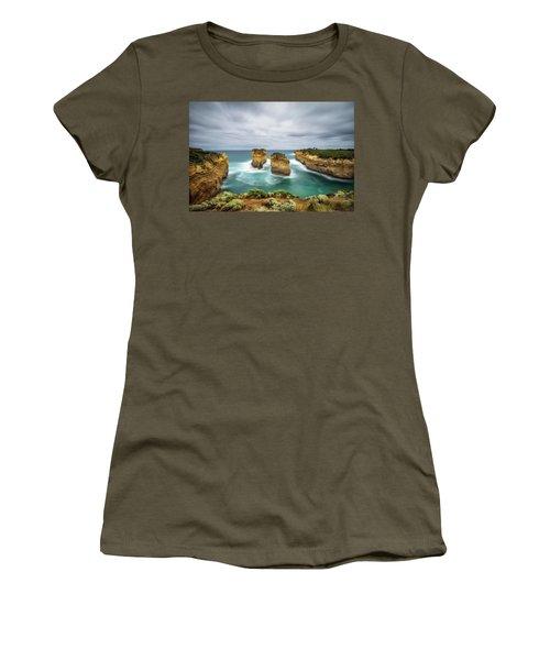 Loch Ard Gorge  In Victoria, Australia Women's T-Shirt