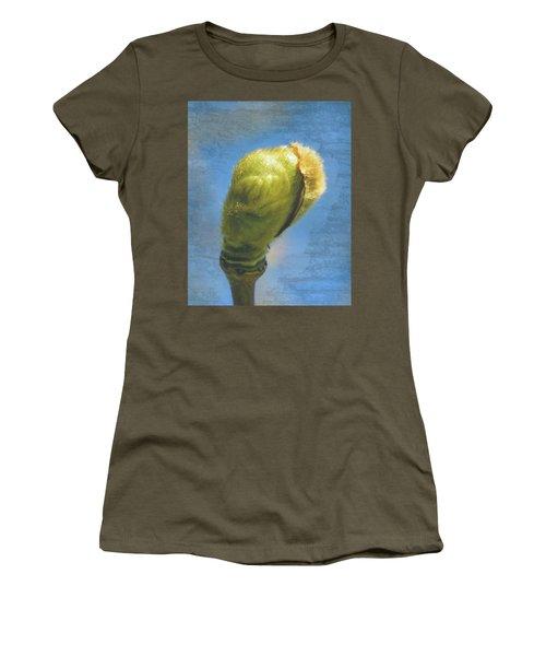 Women's T-Shirt featuring the photograph London Plane Buds C - Platanaceae Fine Art by Jacek Wojnarowski