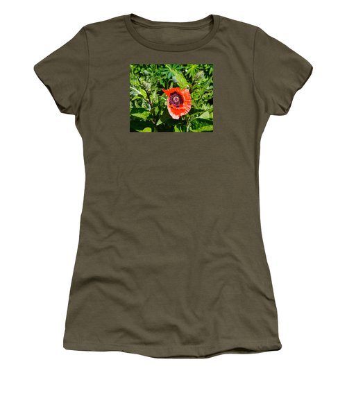 Caught My Eye Women's T-Shirt (Junior Cut) by Allan Levin