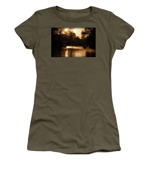 Lone Swan Up For Dawn Women's T-Shirt