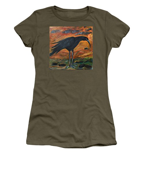 Long Legged Crow Women's T-Shirt