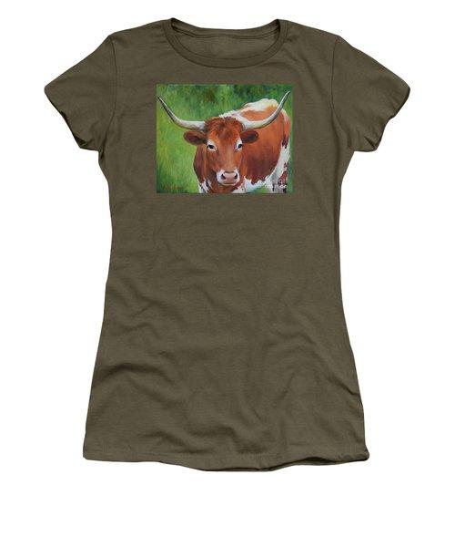 Longhorn I Women's T-Shirt (Athletic Fit)