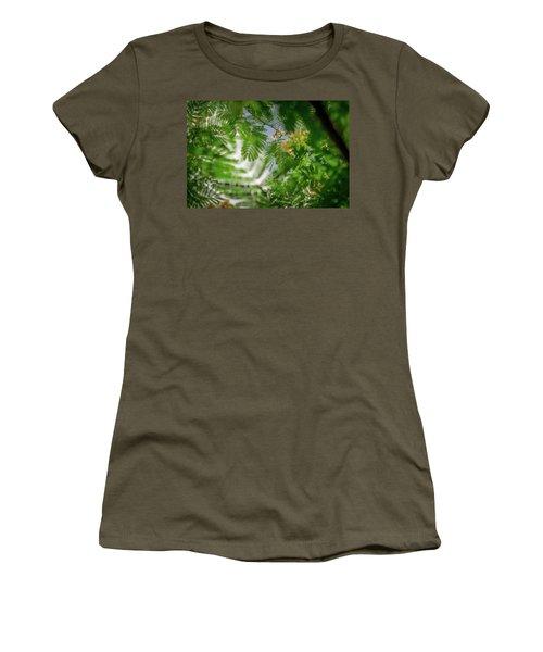 Look To The Sky Women's T-Shirt (Junior Cut) by Stefanie Silva