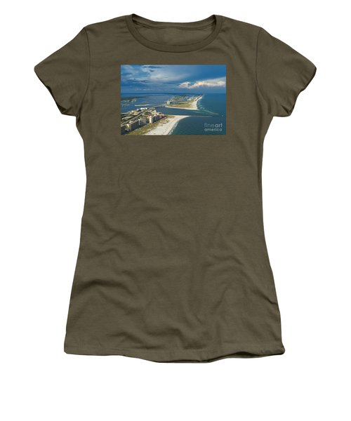 Looking East Across Perdio Pass Women's T-Shirt