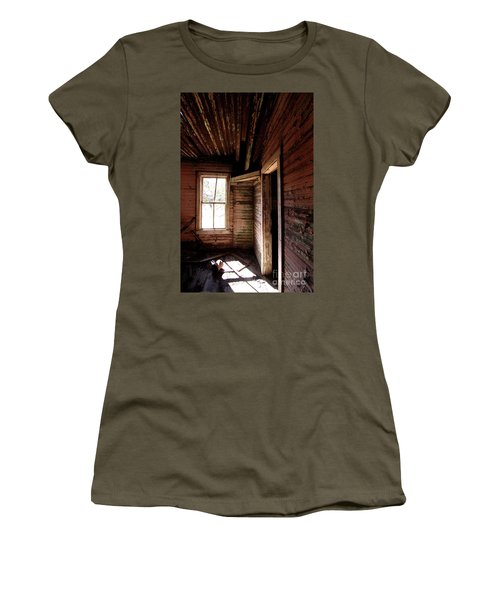 Looking Into The Past Women's T-Shirt (Athletic Fit)