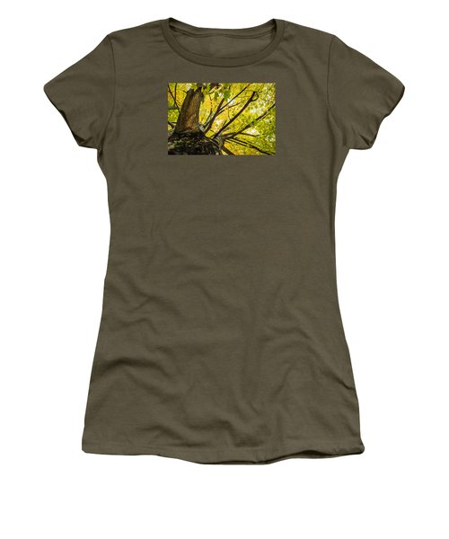 Looking Up - 9676 Women's T-Shirt (Athletic Fit)
