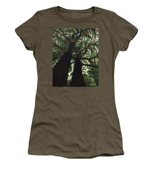 Looking Up Women's T-Shirt (Junior Cut) by Donna Manaraze