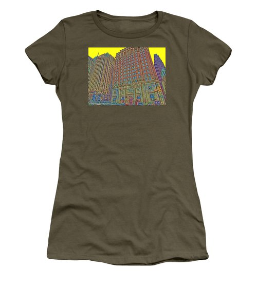 Looking Up In Love Park Women's T-Shirt