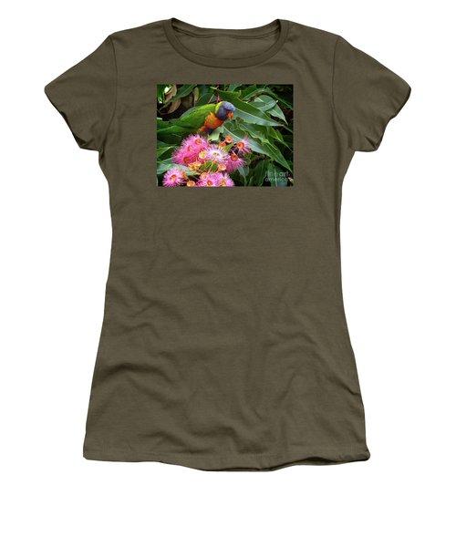Lorikeet Women's T-Shirt (Athletic Fit)