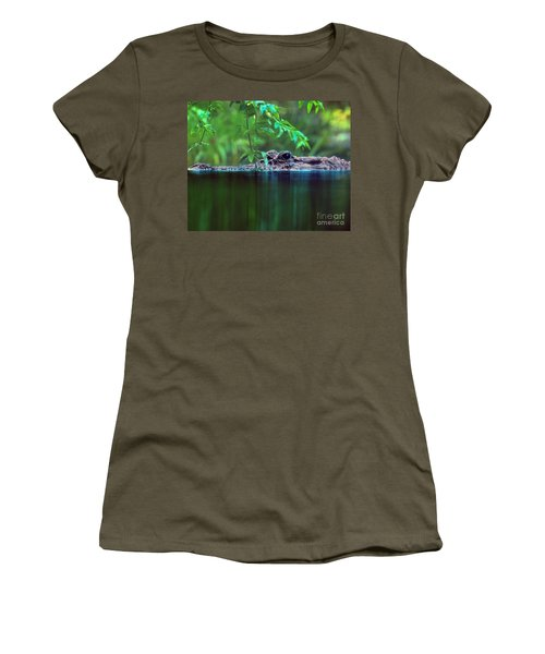 Louisiana Swimming Instructor  Women's T-Shirt (Athletic Fit)