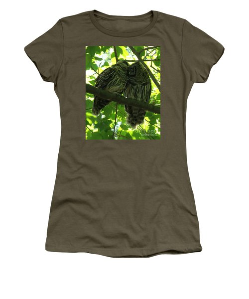 Love Owls Women's T-Shirt (Athletic Fit)