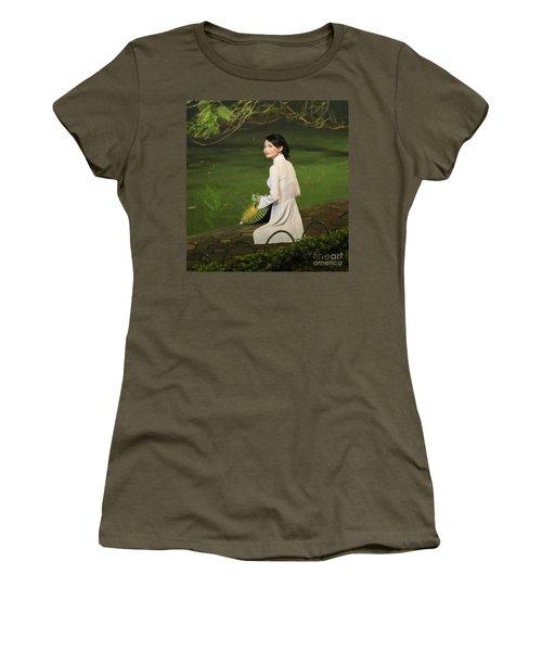 Lovely Vietnamese Woman  Women's T-Shirt (Junior Cut) by Chuck Kuhn