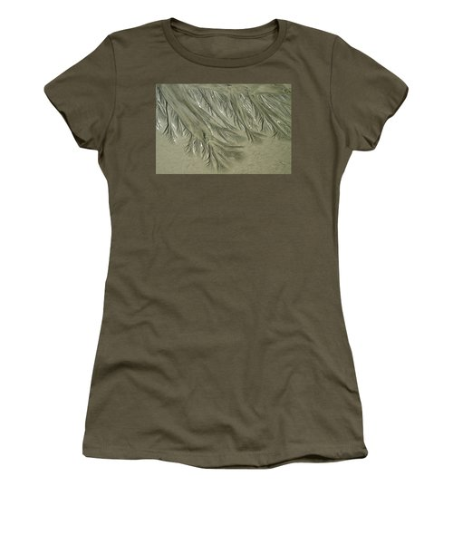 Low Tide Abstracts Iv Women's T-Shirt (Athletic Fit)