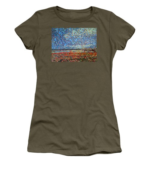Low Tide - St. Andrews Wharf Women's T-Shirt