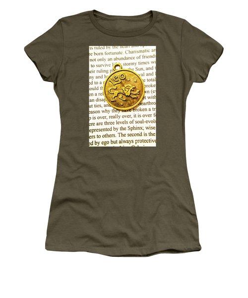 Lucky Leo Charms Women's T-Shirt